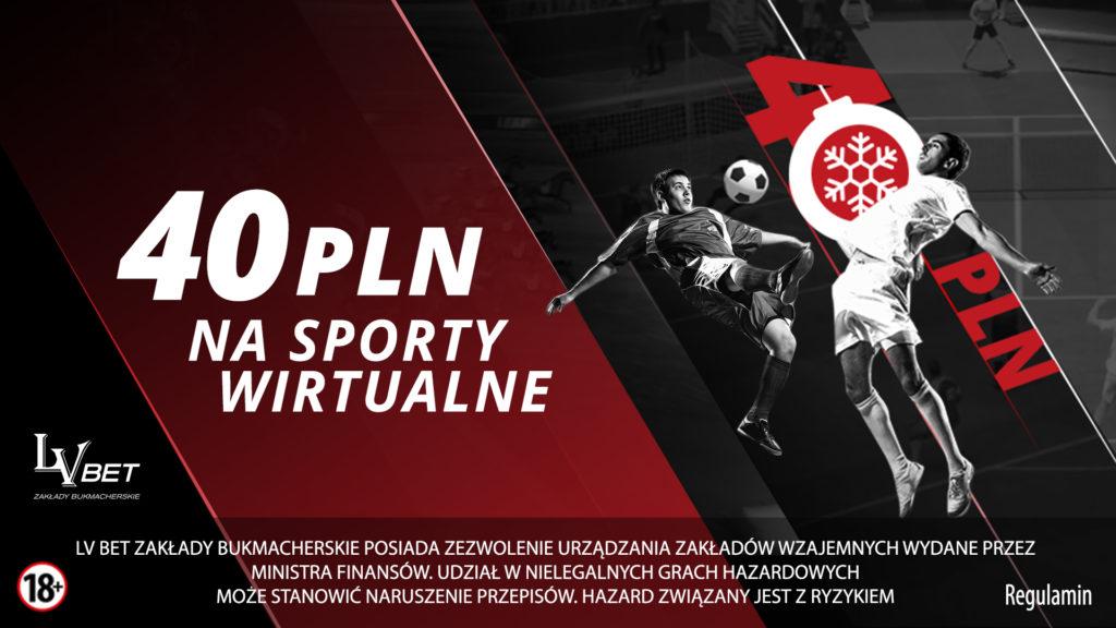 Bonus na Wirtualne Sporty LvBET
