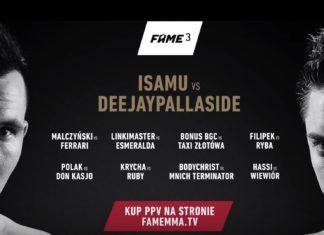 Zakłady FAME MMA 3. Pojawiła się oficjalna zapowiedź!