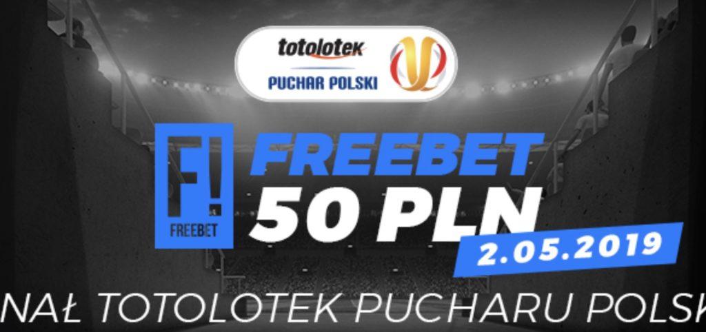Freebet w Totolotku. 50 PLN na finał Pucharu Polski!