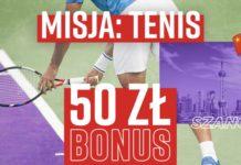Tenisowy bonus w Betclic to 50 PLN dla typerów!