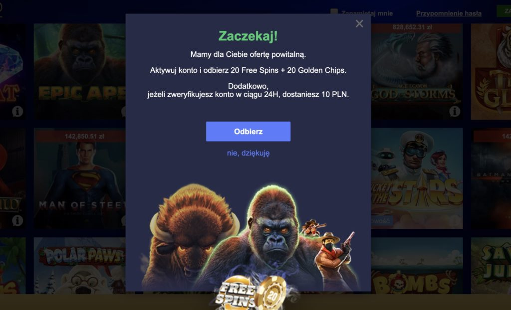 Total Casino - jedyne polskie kasyno w internecie