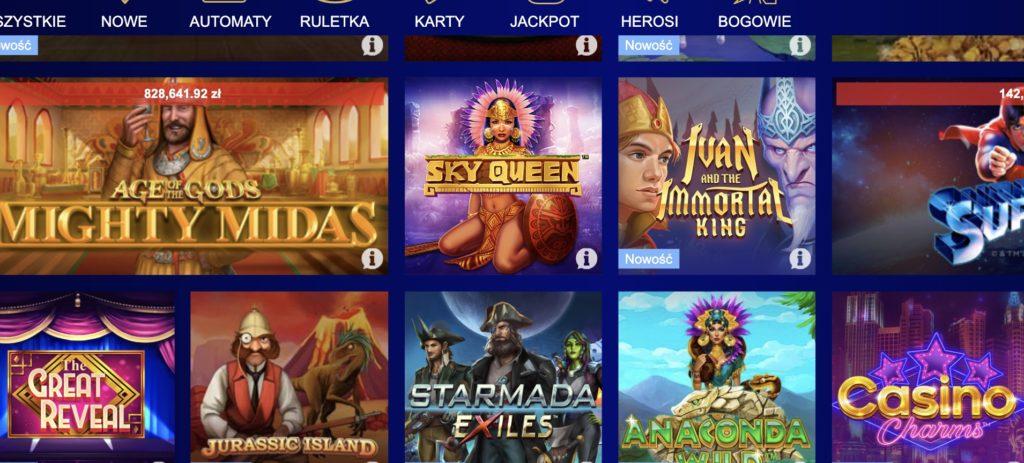 Total Casino automaty